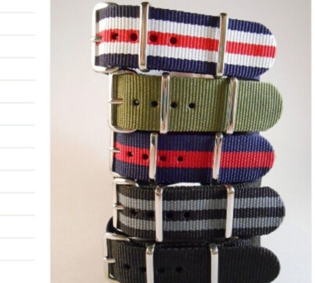 Get the Best Seller Package Deal with the 5 most popular NATO straps from #cheapestnatostraps.com for just $24.95!