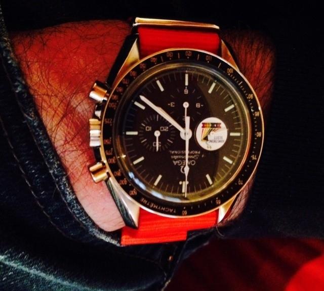 Omega Speedmaster on a NATO strap from #cheapestnatostraps.com #omegaspeedmaster #omega #speedmaster #speedytuesday #natostrap #natoband #klocksnack #watchuseek #watchband #watchstrap