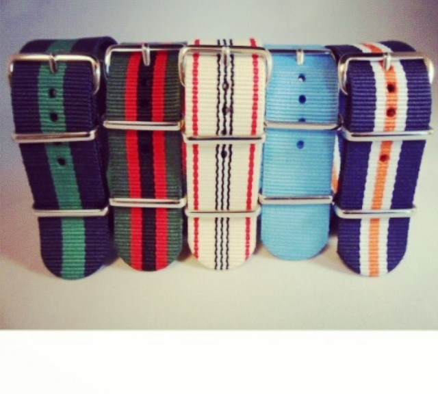 Don't our package deal, 5 of the most popular NATO straps for just $24.95! Get them at www.cheapestnatostraps.com #natostrap #natoband #klocksnack #watchuseek #watchband #watchstrap #cheapestnatostraps #mensfashion #menswear