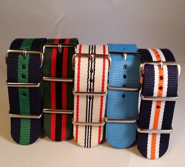 Preppy package deal 5 NATO straps for only $24.95! Check it out on cheapestnatostraps.com world wide shipping $3.99! #cheapestnatostraps #natostrap #watchband #watchuseek #klocksnack