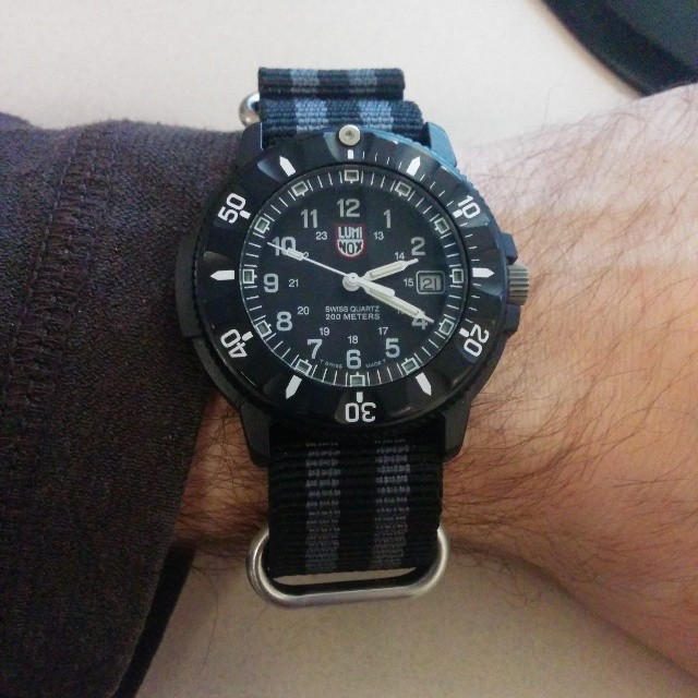 Luminox Watch - Navy Seal Dive and Chronograph Watches.
