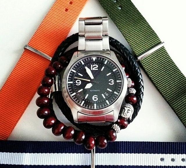 Watch with NATO straps and bracelets from #cheapestnatostraps #natostrap #natoband #klocksnack #watchuseek #instawatch #watchesofinstagram #watchaddict #wristporn
