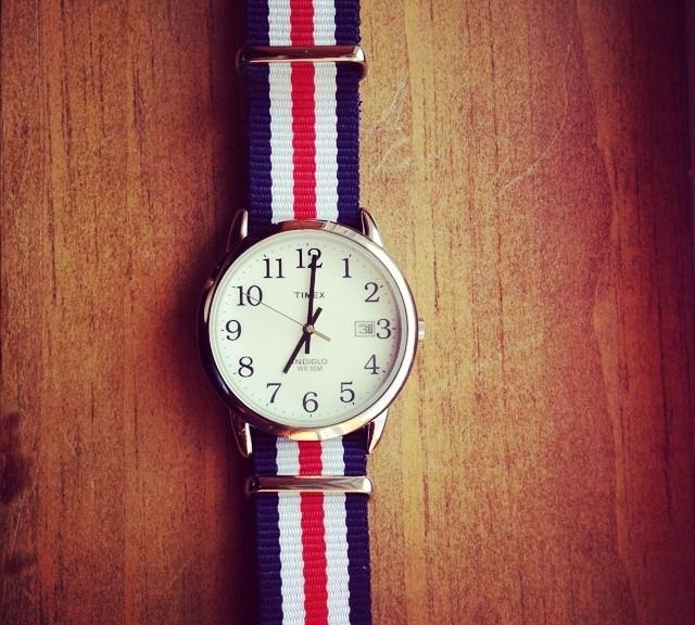 Timex on a NATO strap from #cheapestnatostraps.com #timex #natostrap #natoband #klocksnack #watchuseek #instawatch #watchesofinstagram #watchaddict #wristporn #watchband #watchstrap