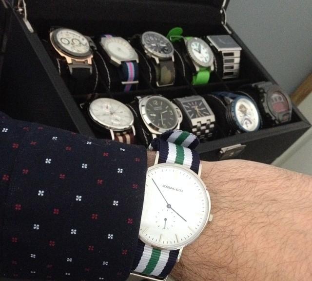 Collection of watches with NATO straps from #cheapestnatostraps.com #natostrap #natoband #klocksnack #watchuseek #instawatch #watchesofinstagram #watchaddict #wristporn