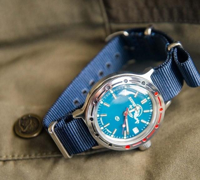 @ulfmeister's Vostok Amphibia on a premium NATO strap from #cheapestnatostraps.com #vostok #vostokAmphibia #russianwatch #natostrap #natoband #klocksnack #watchuseek #instawatch #watchesofinstagram #watchaddict #wristporn #watchband #watchstrap